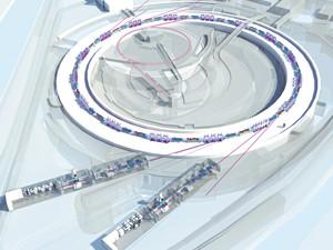 Architecture synchrotron