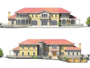 Etude volumes et coloris pour les architectes