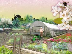 Illustration industrie des fertilisants bio