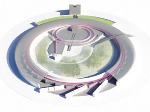 dessin de principe recherche scientifique synchrotron