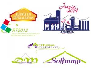 logo, marque, label