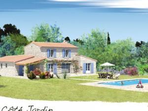 insertions paysagères villas Vaucluse