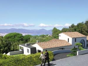insertion paysagère architecture à St Tropez
