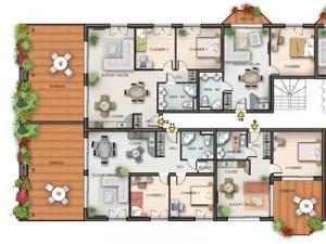 plans de vente – Etage entier