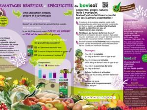 Plaquette agriculture bio