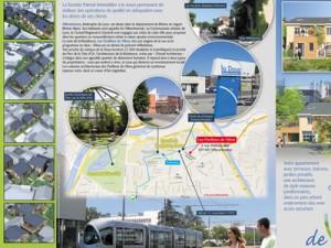 pochette programme immobilier Lyon Doua
