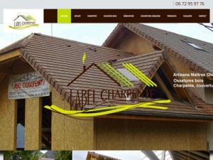 Site internet Label Charpente