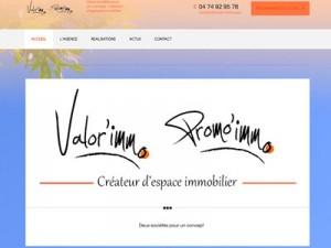 Site internet de Valor'immo