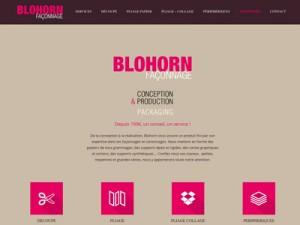 site internet entreprise de façonnage