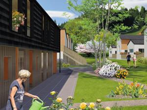 Perspective villas à Vimines