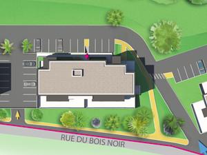 plan de masse promotionnel Programme La Ravoire