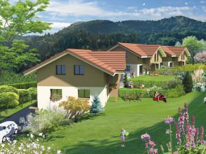 Perspective villas à Neyrolles
