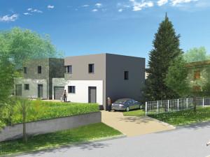 Perspective villas à Voiron