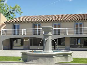 perspective projet architecture Château Serame 5