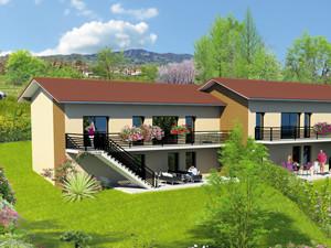 perspective programme immobilier villas Alpes