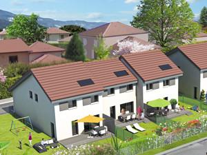 perspective promotionnelles lotissement de villas – Grésivaudan